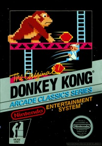 donkey kong cover