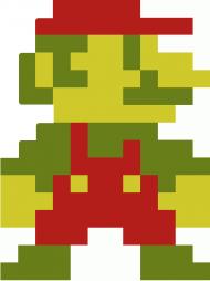 Mario-Sprite