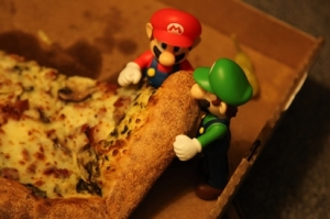 year-of-luigi-pizza